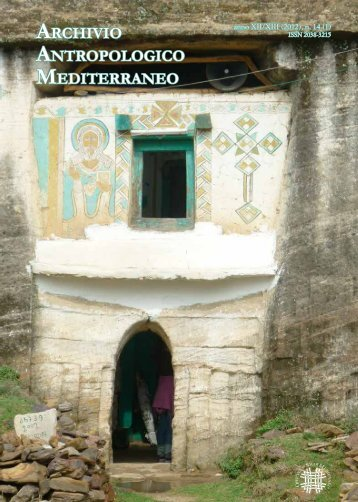 Scarica la rivista in formato PDF - Archivio Antropologico Mediterraneo