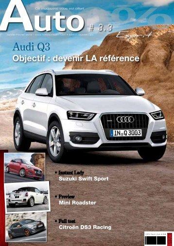 Audi Q3 - Magazine 100% esprit auto