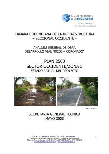 Vías Valle del Cauca - Cámara Colombiana de la Infraestructura