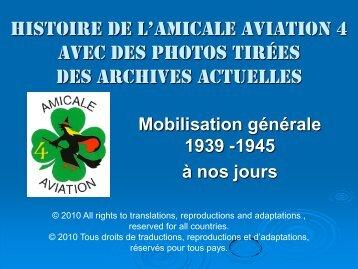Petite histoire de l'Amicale aviation 4 en photos