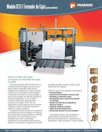 Modelo CE15-T Formador de Cajas(patente pendiente)