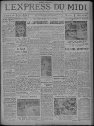 14 avril 1930 - Bibliothèque de Toulouse