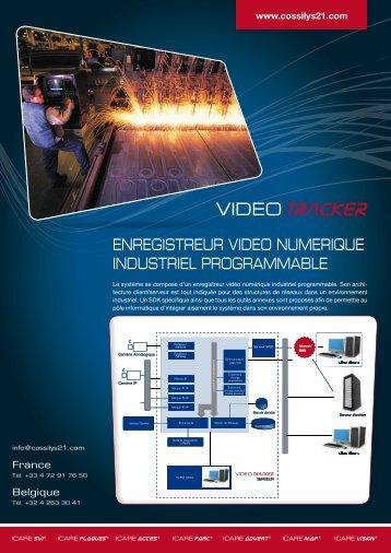 Fiche produit Vidéo Tracker - Cossilys 21