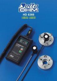 HD 8366 - measuring instruments delta-ohm