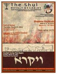 Bulletin03.12.2011 -Vayikrah