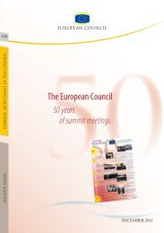 The European Council — 50 years of summit meetings - Europa
