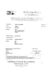 JBDR Series Pre Drilled IECEX Certificate LCI 2004.0025U