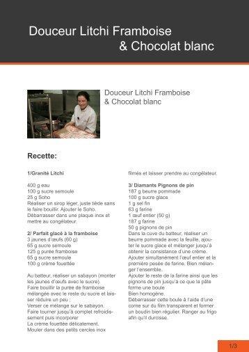 télécharger la recette - Gastronomie TV