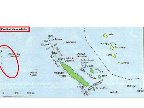 Comment la zone de pêche de la Nouvelle-Calédonie est-elle