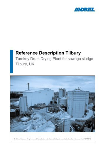 Reference Description Tilbury - Andritz