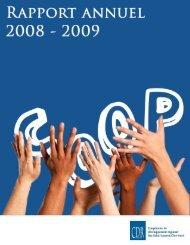 Rapport annuel 2008-2009 - Coopérative de développement ...