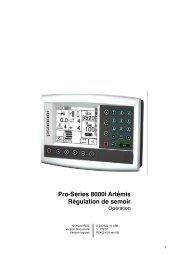 Pro-Series 8000i Artémis Régulation de semoir - RDS Support Server