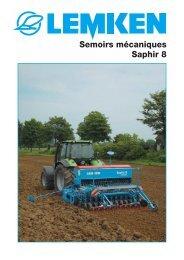 Semoirs mécaniques Saphir 8 - db-central