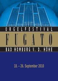 bad homburg vd höhe orgelfestival - Frankfurter Neue Presse