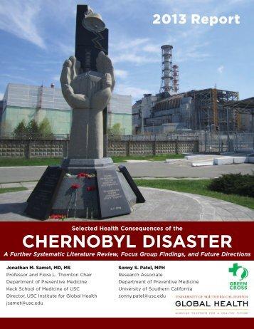 Chernobyl-Report 2013 - Green Cross International