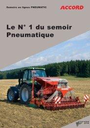 Le N° 1 du semoir Pneumatique - Angouleme Materiel Agricole