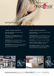 semınare - Mod's Hair