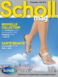 Découvrez le catalogue SCHOLL COLLECTION ETE ... - Pharmonline