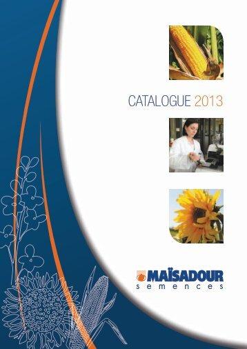 CATALOGUE 2013 - Maïsadour Semences