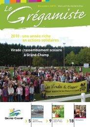 Le Grégamiste, décembre 2010, p.7 - Grand-Champ