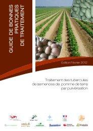 guide de bonnes pratiques de traitement - Bretagne : Plants