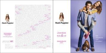 Look Book HUSH PUPPIES Printemps-Eté 2013