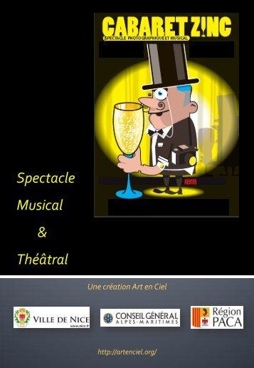 Cabaret Zinc - Art en Ciel