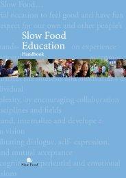 Education Handbook - Slow Food