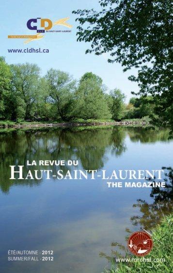 La Revue du Haut-Saint-Laurent (Été-Automne 2012)