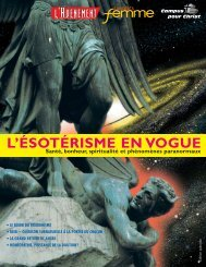L'ÉSOTÉRISME EN VOGUE - Info-Sectes