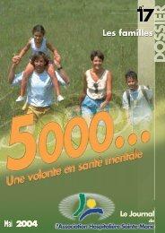 mai 2004 - Les familles - N° 17 - Association hospitalière Sainte Marie