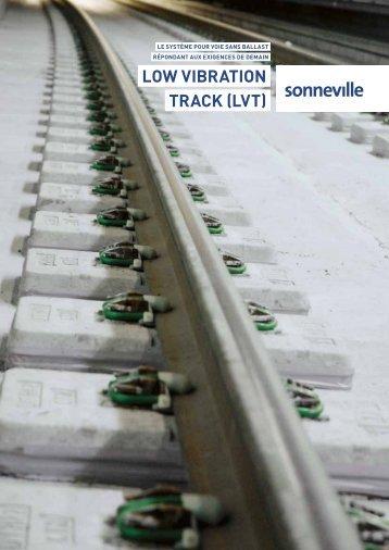 Low Vibration Track (LVT) - Français - Vigier-Rail