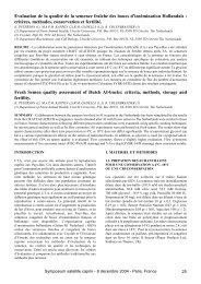 Evaluation de la qualité de la semence fraîche des boucs d ...