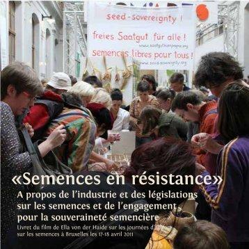 Semences en résistance» - le film - Bifurcated Carrots