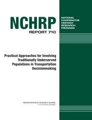 NCHRP Report 710 - Context Sensitive Solutions.org