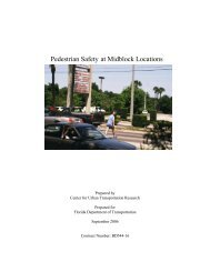 Pedestrian Safety at Midblock Locations - Florida Department of ...