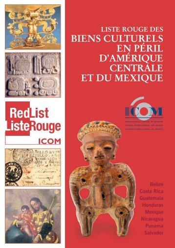 Télécharger la liste rouge - The International Council of Museums
