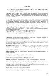 1. glossaire et termes techniques applicables aux ... - economie.gouv