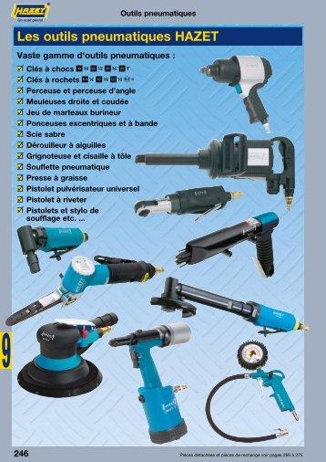 Les outils pneumatiques HAZET