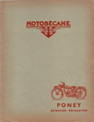 PONEY - Motobécane Club de France