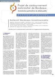Cahier d'acteur du Collectif Bordeaux Incontournable - Sepanso