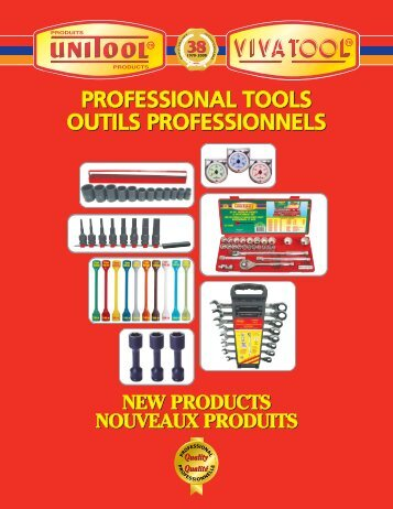 Outils professionnels - Unitool Inc.