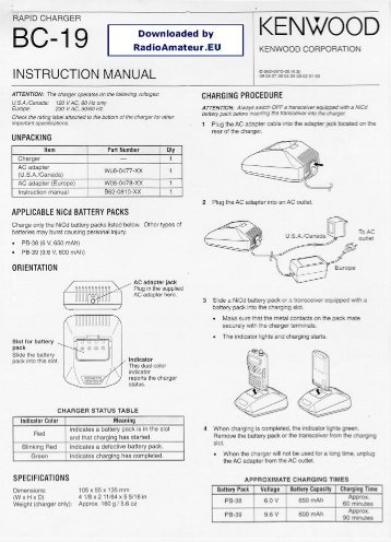 Kenwood TM742 AE Service Manual