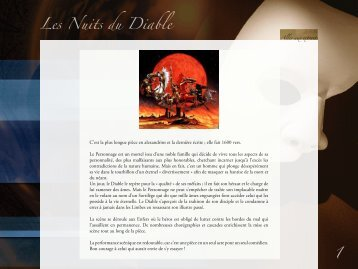 Les Nuits du Diable 1 - site de Pascal Delaunay