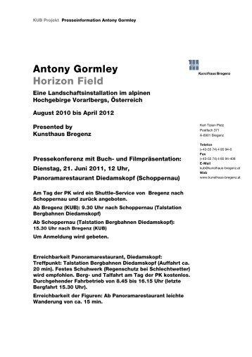 Antony Gormley Horizon Field - Kunsthaus Bregenz