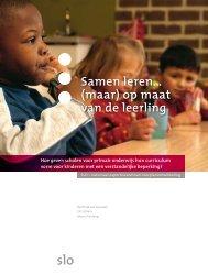 Samen leren… (maar) op maat van de leerling - Leraar24