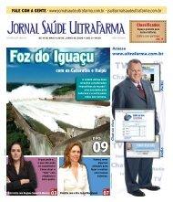 com as Cataratas e Itaipu - Jornal Saúde UltraFarma