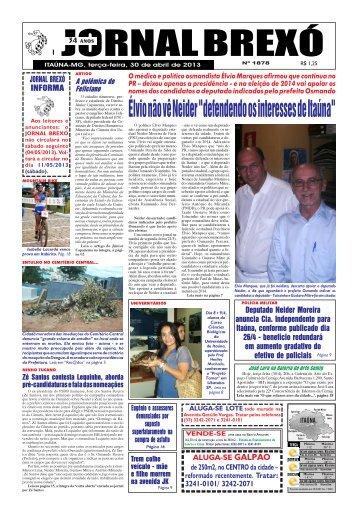 """Élvio não vê Neider """"defendendo os interesses de ... - Jornal Brexó"""
