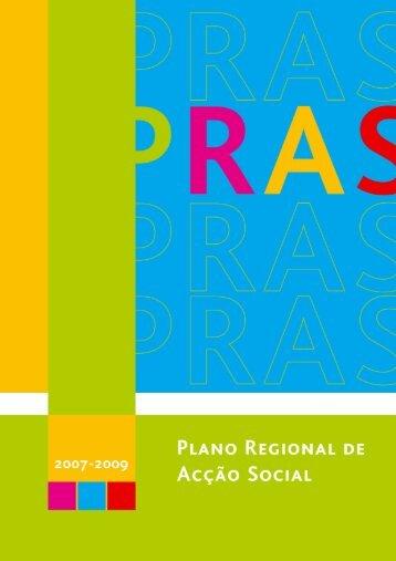 Plano Regional de Ação Social (2007-2009) - Secretaria Regional ...
