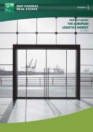 THE EUROPEAN LOGISTICS MARKET - BNP Paribas Real Estate